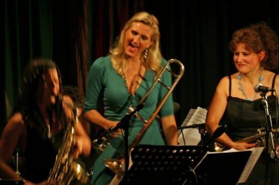 BURN trio: Shannon, Karin och Hildegunn juni 2007. Foto Nina Swart