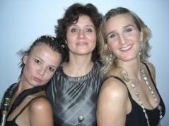 BURN trio: Shannon, Hildegunn och Karin. Genting Jazz Festival 2008.