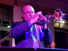 Fredrik Norén vid National Youth Jazz Festival Sydafrika juli 2017. Foto Diane Rossi