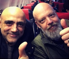 Joan Chamorro och Fredrik Carlqvist på turné
