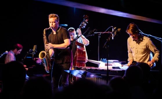 Marius Neset Quartet. foto Tore Sætre