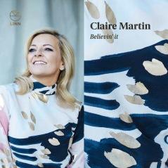 Skivomslag till Claire Martins senaste skiva. Skivan spelades in med kvällens trio.