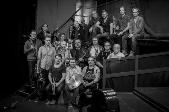 Stockholm Jazz Orchestra (SJO). foto 2014 Casper Hedberg