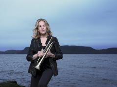 Ingrid Jensen. foto Jimmy Katz