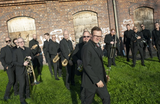 Norrbotten Big Band. foto Anders Alm