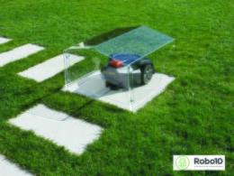 Vädeskydd acryl robotgräsklippare