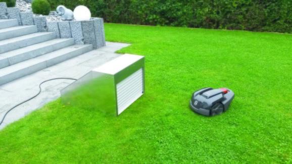 Låsbart hus robotgräsklippare Mower Garage
