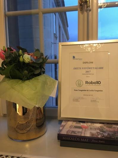 Robo10 årets nyföretagare