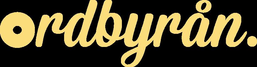 Ordbyrån – logotyp