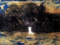 Allt börjar med en målning. En skiss för något som ska hända. Dagen efter att det hänt säljs den på auktion.
