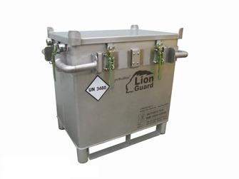 Säkerhetsbox för litiumbatterier