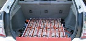 Elbilsbatteri av lithium