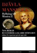Djävla Mansfôlk! underlag digital affisch A3 färg
