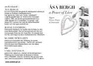 a Peace & Lôve underlag - folder fram&baksida
