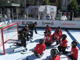 Gör som NHL, träna på SmartRinks syntetis
