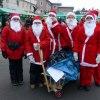 Julskyltning i Kisa. foto Ing-Marie Wallin