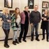 05 Julia, Eleonore, Christina, Ulf och Gun fick mest röster på sina bilder från publiken under julskyltningssöndagen. foto IMW