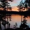 Solnedgång foto Einar Samuelsson