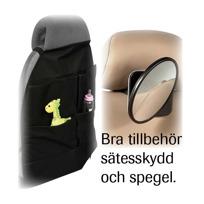 Bilsätesskydd, spegel Babyproffsen Halmstad