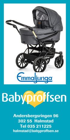 Barnvagnar Halmstad. Stort urval av åkpåsar, ullfällar & säkra barnvagnar;  Emmaljunga, Bugaboo, Kronan, baby jogger mfl hos Babyproffsen i Halmstad