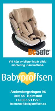 Godkända, framåtvända & bakåtvända babyskydd & bilstolar; Besafe, Britax, Maxi-Cosy , baby jogger mfl Babyproffsen i Halmstad