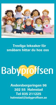 Babyproffsen i Halmstad har ett stort urval av babyleksaker så som  lekstolar, babygym, hoppgungor, mobiler, skallror, barnvagnsrader, Rubens barn mm