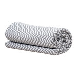 Vinter & Bloom grey Herringbone Babyproffsen Halmstad