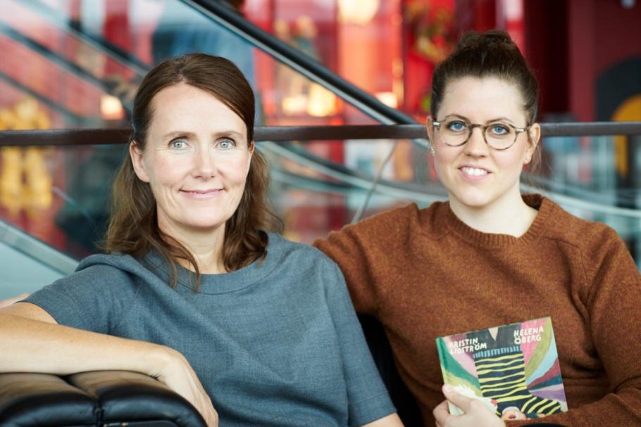 Helena Öberg och Kristin Lidström. (foto: Mats Lundqvist)