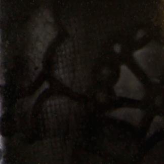 blank stengodsglasyr svart