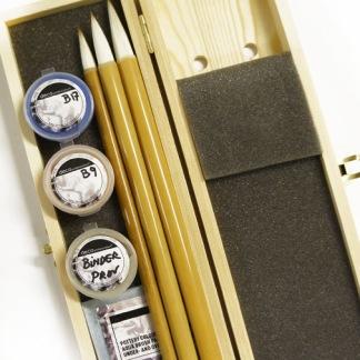 penselset bambu