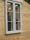 Tvåluftsfönster med spröjs och  uttagbara innerbågar