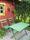 Möbel målad med kromoxidgrön linoljefärg