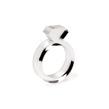 Diamond Acrylic Ring Clear - Strl 5 / 15,6 mm