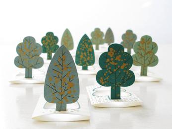 Forest cards - Småkort