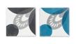 Kakel - 1 st Transparent Transition/Blågrå