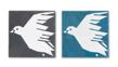 Kakel - 1 st Fly Little Birdie/Blå
