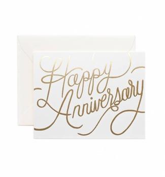 Happy anniversary - Kort