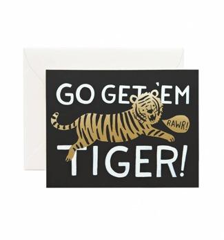 Go get 'em tiger - Kort