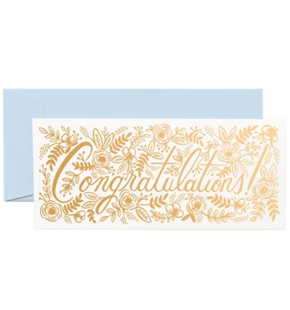 Congratulations - Kort
