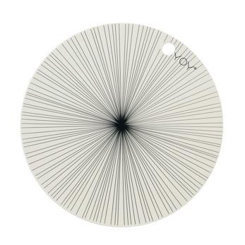 Underlägg OYOY - Off white cirkel