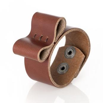 Bracelet Bow, bred - Brick