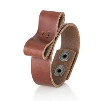 Bracelet Bow, smal - Brick