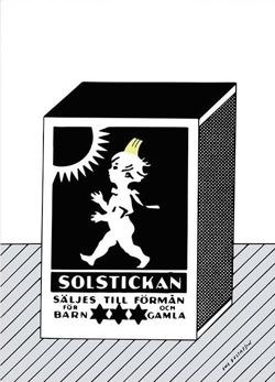 Tintin Solstickan - 50 x 70 cm