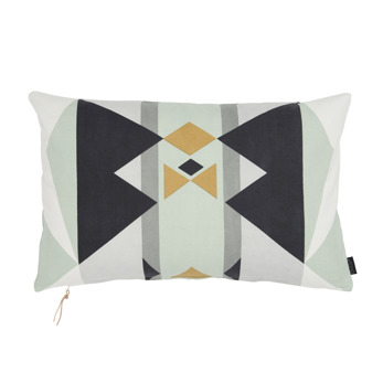 Boho cushion - Mint