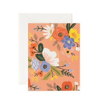 Lively floral - Aprikos