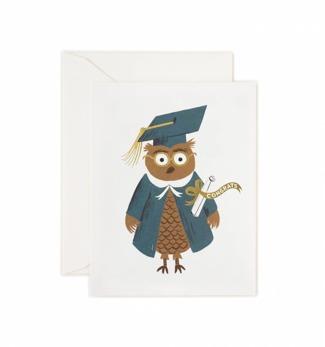 Congrats owl - Kort