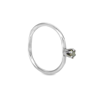 Apple Ring Liten Pyrit - Strl 15