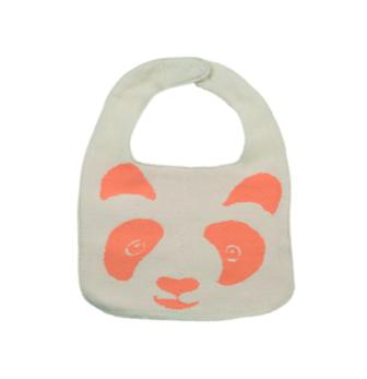 Haklapp Peachy panda - Offwhite/peach