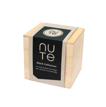 Black collection - NUTE Ekologiskt te i påsar