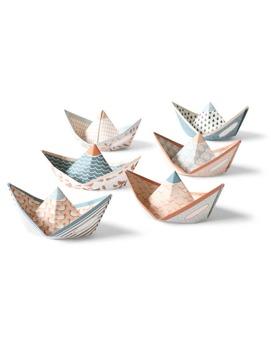 Sweet fleet - Pappersbåtar